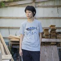 SABA ティシャツ(グレー)
