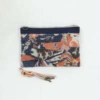 021|cut 布のかけらを集めたポーチ(Indonesia)