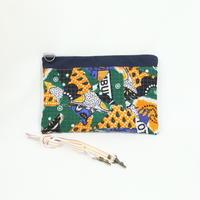 015|cut 布のかけらを集めたポーチ(Kenya)