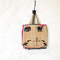 397|中南米の織物&ミャンマー・ナガ族の手刺繍