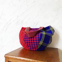 222| ケニア・マサイシュカ・ボニーバッグMサイズ