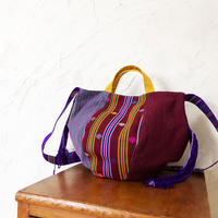 273|ブータン・カード織&手織り布(size/M)