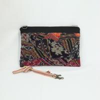 022|cut 布のかけらを集めたポーチ(Indonesia)
