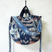 スンバの織物 ワンハンドル・ボニーバッグLサイズ