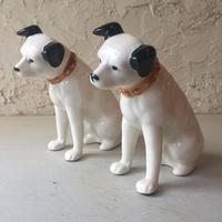ビクター犬 Victor ニッパー 陶器 フィギュア 昭和 ビンテージ