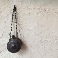 日本 古道具 アンティーク 水筒 火薬入れ 花器 一輪挿し
