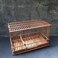 Japan Vintage バードゲージ 鳥かご 鳥籠 カゴ 竹 細工