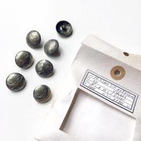 Vintage button/ヴィンテージボタン MSV039/Metal Silver/7pcs set