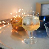 【イタリア製】 足の短いワイングラス