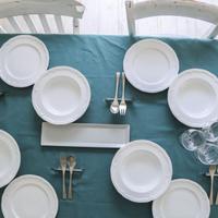 お食事向けテーブルセット レンタル 8名セット 1か月