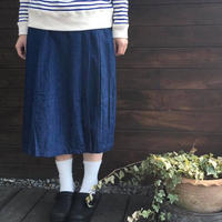 DENIMプリーツスカート /eka::'19SS/1720602