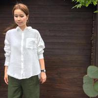 ダブルガーゼビッグシャツ / marle/7119-4013