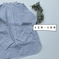 Jr.バンドカラーシャツ(150-160)/F.O.U'20SS/I108060
