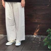 ヒッコリーワイドパンツ/ Fillil/5456