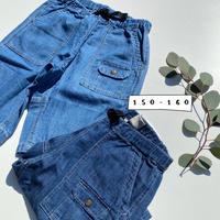 Jr,DENIM CLMBING SHORTS/Ocean&Ground'20SS/1017256