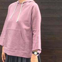 スタンダード裏毛ラグランパーカー/ DIARIES/Y51919
