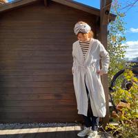 Linen Robe Cardigan /nachukara'20ss/74110