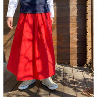 Cotton Twil Tuck Skirt /nachukara'20ss/73910