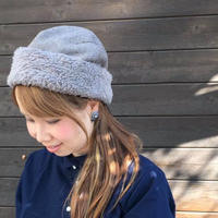 Wool Fur Back Lace Roll/スリープスロープのアトリエ/FR910115