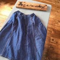 J&A デニムリメイクプリーツスカート/Granny Branket'19AW/2927551