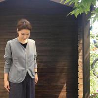 Cotton Zip-UP Cardigan/ nachukara/nk-43350