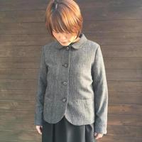 Woolチェック ショートジャケット/eka::'18AW/1720604