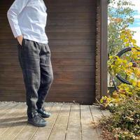 Linen Tapered Pants /nachukara'20ss/73900