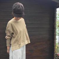 ワッフルサーマル サイドジッププルオーバー/OMNES/1519-5030