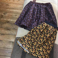Jr,リーフ総柄タックキュロット(140-150)/Little s.t. by s.t. closet'19AW/A34104