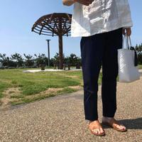 カツラギ テーパードトラウザー/  NATURAL LAUNDRY'19SS/7191P-005