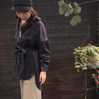 コーデュロイベルト付ビッグシャツ/ marle /コーデュロイベルト付ビッグシャツ/4012