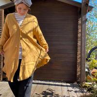 French Linen Drape Long Cardigan /nachukara'20ss/75895