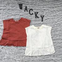フリルフレンチTシャツ/MAKE YOUR DAY'19SS/M930116