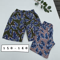 Jr.BOTANICAL EASY SHORTS  /Ocean&Ground'20SS/1017258