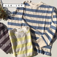 Jr. BORDER LONG T(150-160)/Ocean&Ground'20SS/1016052