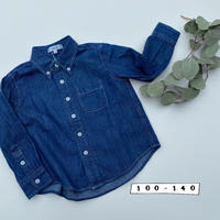 デニムボタンダウンシャツ/F.O.U'20SS/I108010