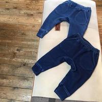 ANKLE RIB INDIGO SHAGGY PANTS /Ocean&Ground'19AW/1627107
