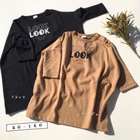 LOOK LOOK Tシャツワンピース/jiensb 2nd/800801