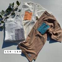 Jr.COLOR POCKET T/Ocean&Ground'20SS/1016160