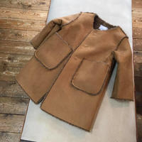 NO COLLAR BONDING COAT/OCEAN&GROUND'19AW/1926503