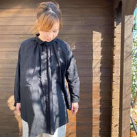 Cotton Roan Gather Shirt /nachukara'20ss/72212