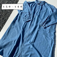 Jr. DENIM GATHER ONEPIECE(150-160)/Ocean&Ground'20SS/1017653