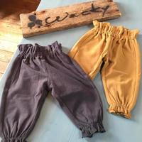 FRILL WAIST PANTS/Ocean&Ground'19AW/1927103