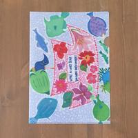 キッズアートプロジェクト×池内薫  クリアファイル