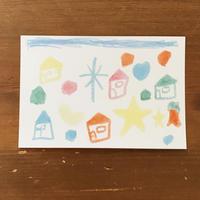 KAPポストカード「家」