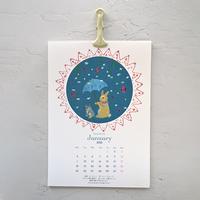 """The calendar ""  2021年 カレンダー"