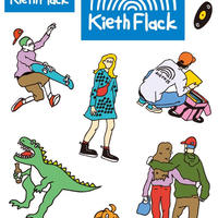 Kieth Flack ステッカー