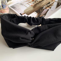 ◆ New / Peru T-shirt turban Black