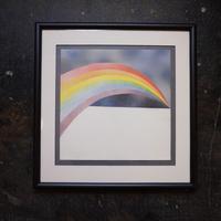 "70's Silk Screen "" RAINBOW """