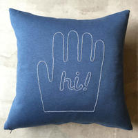 "STOMACHACHE. x Pacifica Collectives ""Hi!""Cushion"